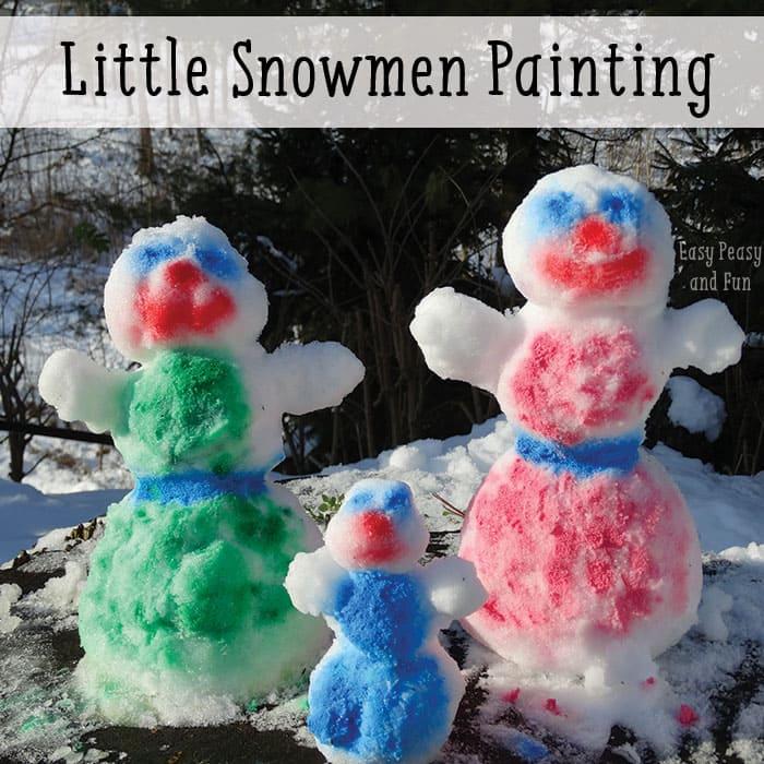 snowmen-snow-painting