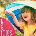 20 Spring Activities for Kids