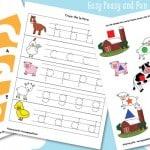 Farm Printables For Kids