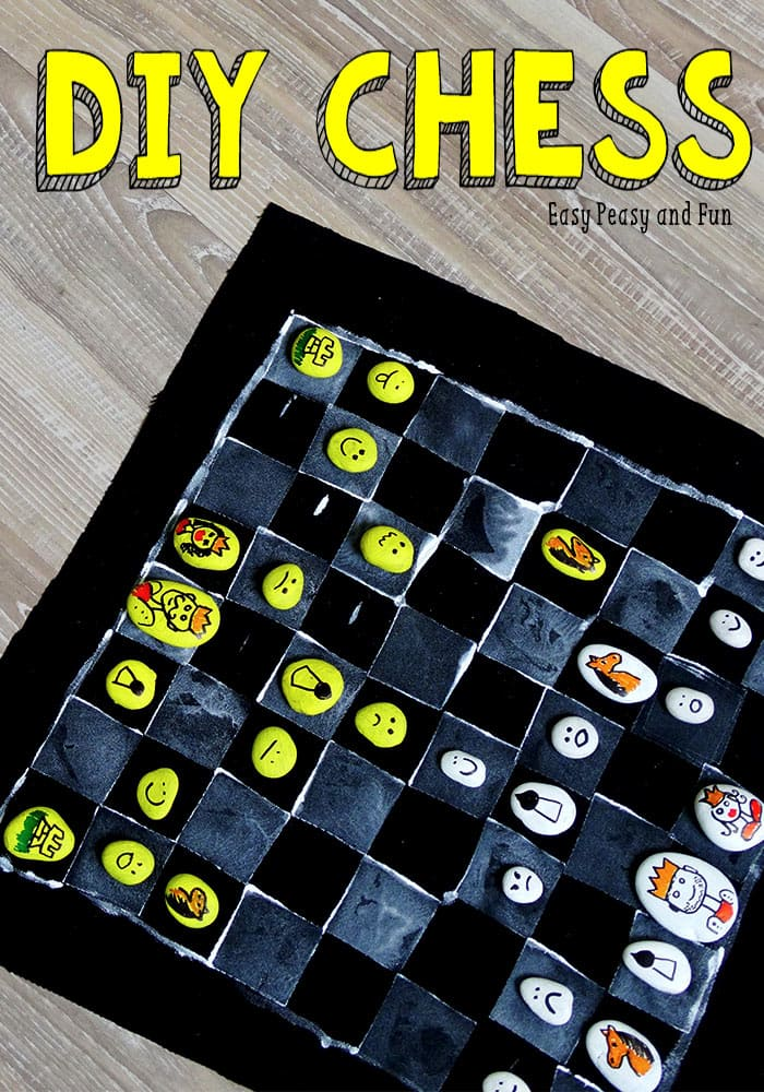 DIY Chess Board Game