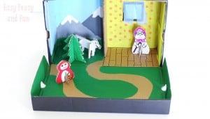 Little Red Riding Hood Shoe Box Craft