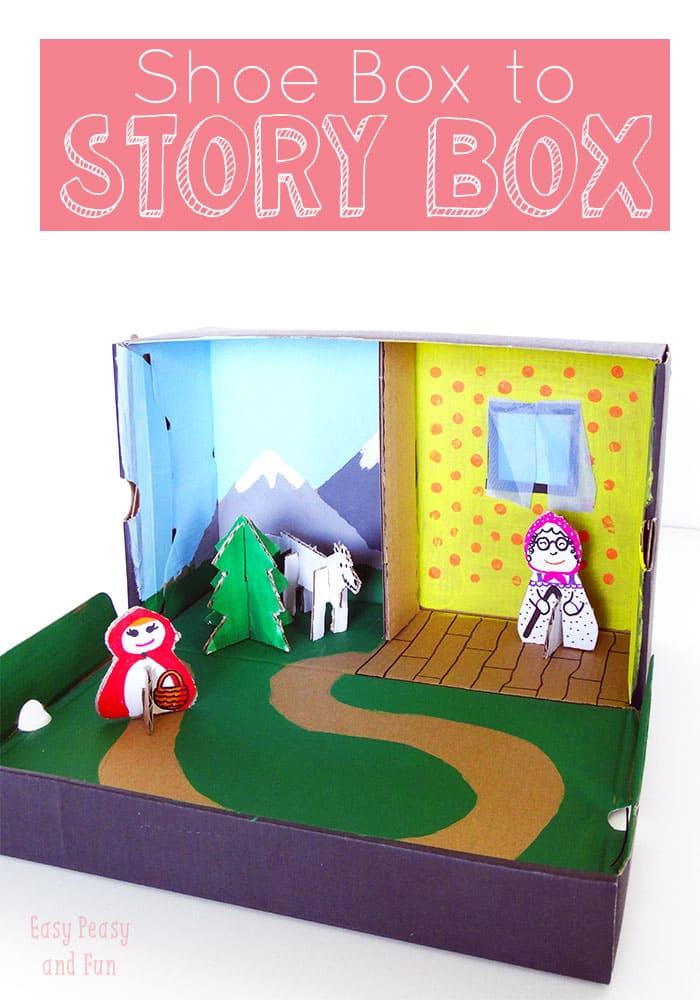Story Box Shoe Box Craft Easy Peasy And Fun