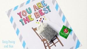 Teacher Appreciation Day Card Printable