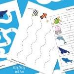 Ocean Animals Printables For Kids