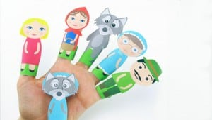 Printable Finger Puppets