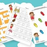 Summer Printables for Preschool
