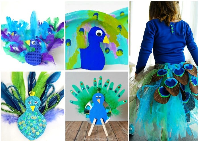Peacock Crafts And Activities Easy Peasy And Fun
