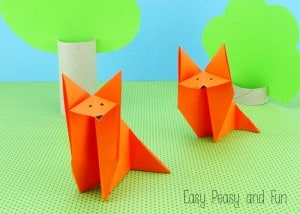Origami Fox – Origami for Kids