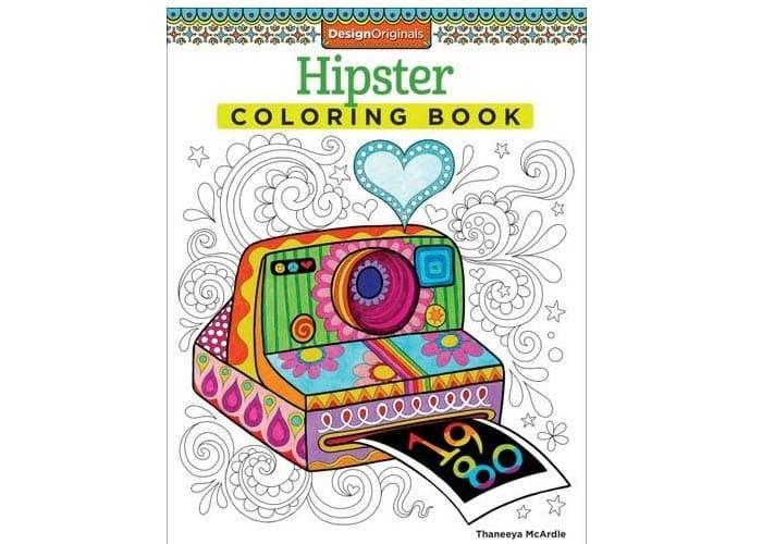 http://www.amazon.com/Hipster-Coloring-Book-Design-Originals/dp/1574219642/