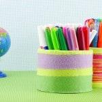 DIY Pencil Holder – Back to School Crafts