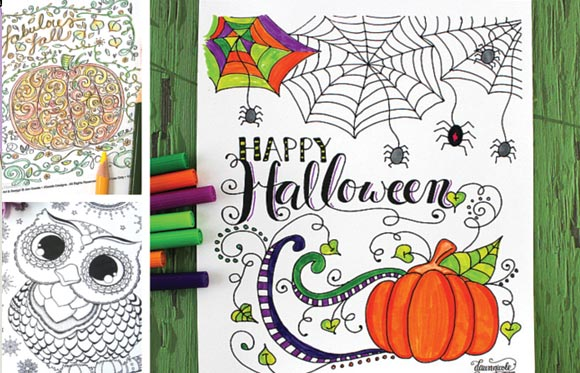 easy peasy fun coloring pages - halloween coloring pages for adults easy peasy and fun