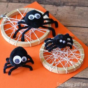 Silly Spider Craft