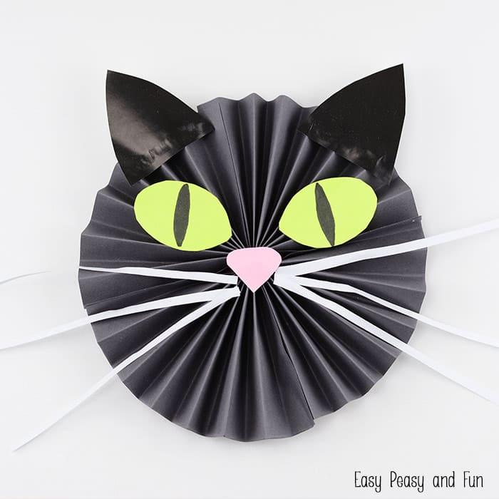 Black Cat Paper Craft Easy Peasy And Fun