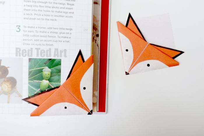 Forest Animals Origami for Kids - Easy Peasy and Fun