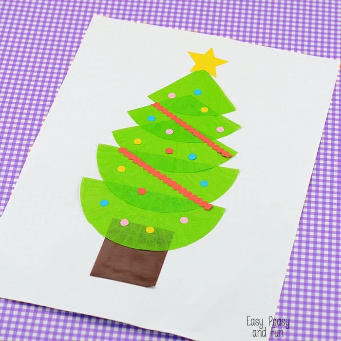 Cupcake Liner Christmas Tree