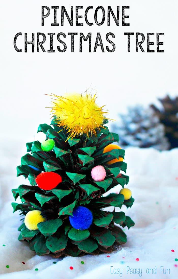 Pinecone Christmas Tree Decoration
