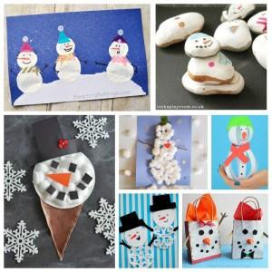 Snowman Crafts Challenge