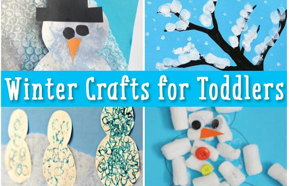 Winter And Snow Crafts For Toddlers