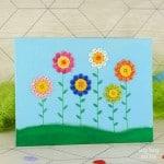 Button Flowers Canvas
