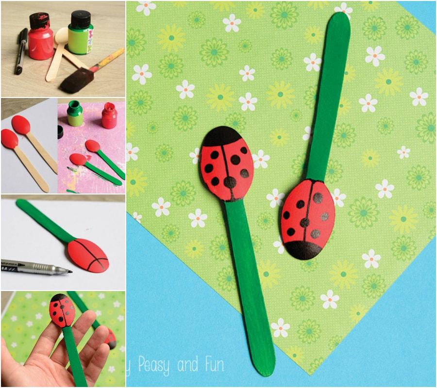Ladybug Collage
