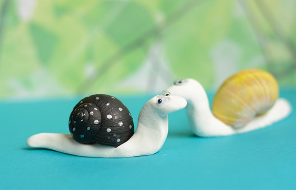 Snail Shell Snail Craft Easy Peasy and Fun