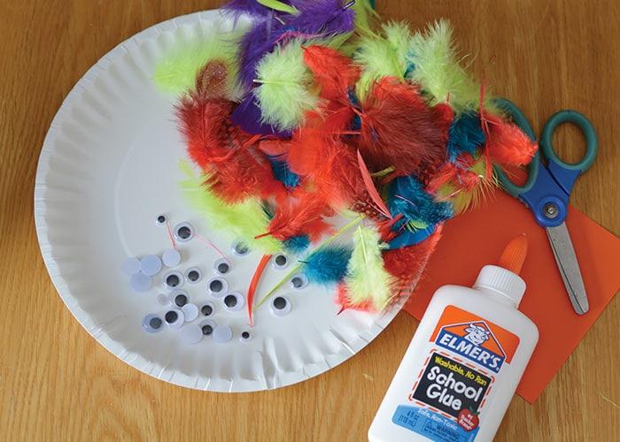 Supplies for Bird Craft