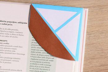 Sailboat Corner Bookmark