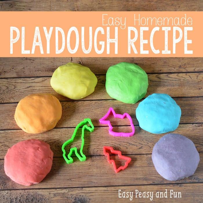 Homemade Craft Dough Recipe