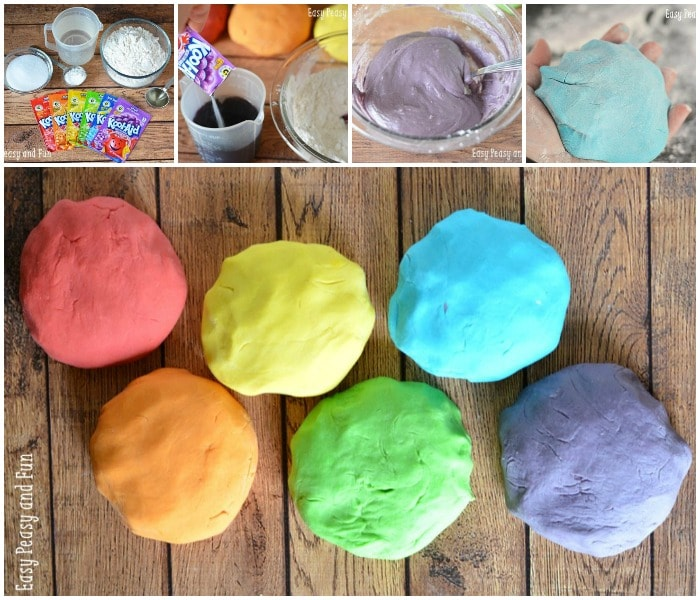 Easy Homemade Playdough Recipe Easy Peasy And Fun