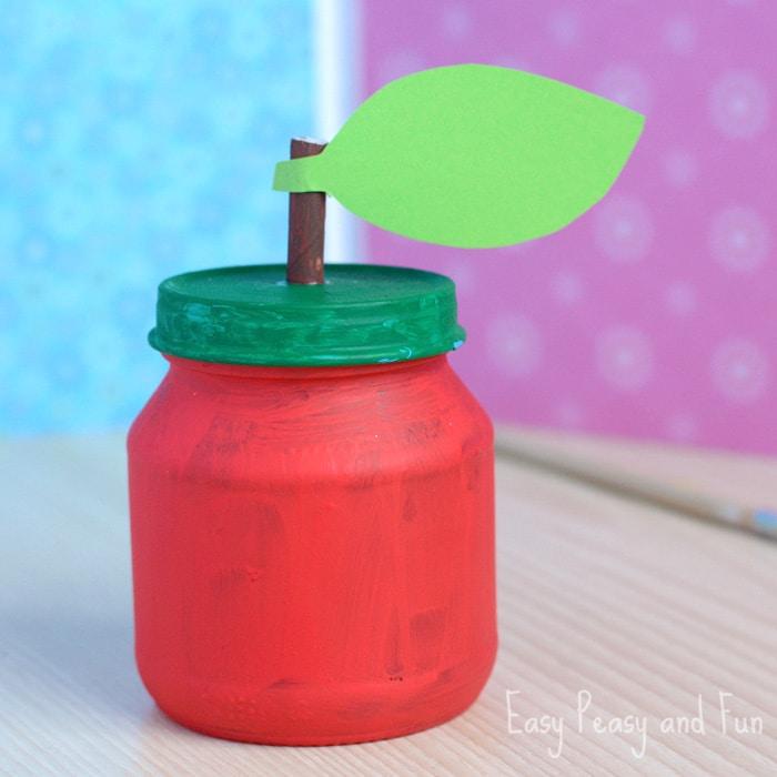 Apple Jar Craft for Kids