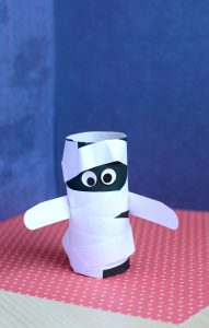 Paper Roll Mummy Craft