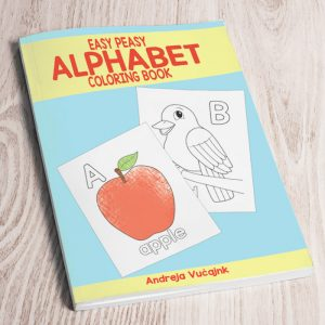 Easy Peasy Alphabet Coloring Book – ABC Coloring Pages