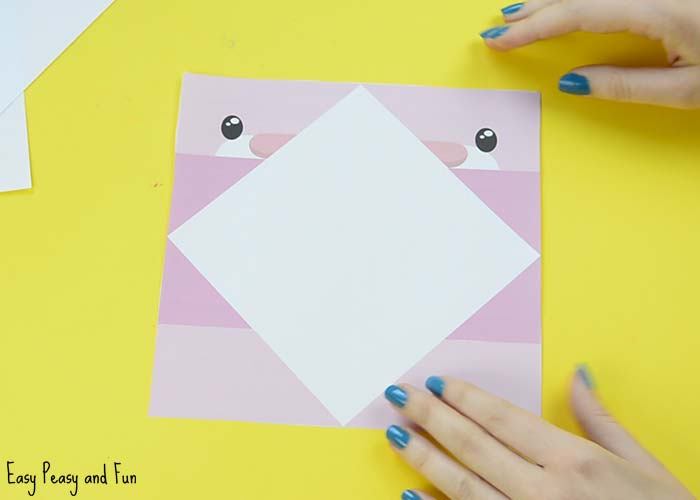 How to Make a Cootie Catcher (Origami Fortune Teller) pictures