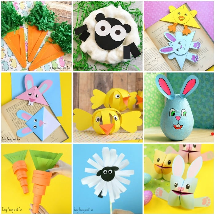 How To Make An Easy Origami Easter Bunny Basket