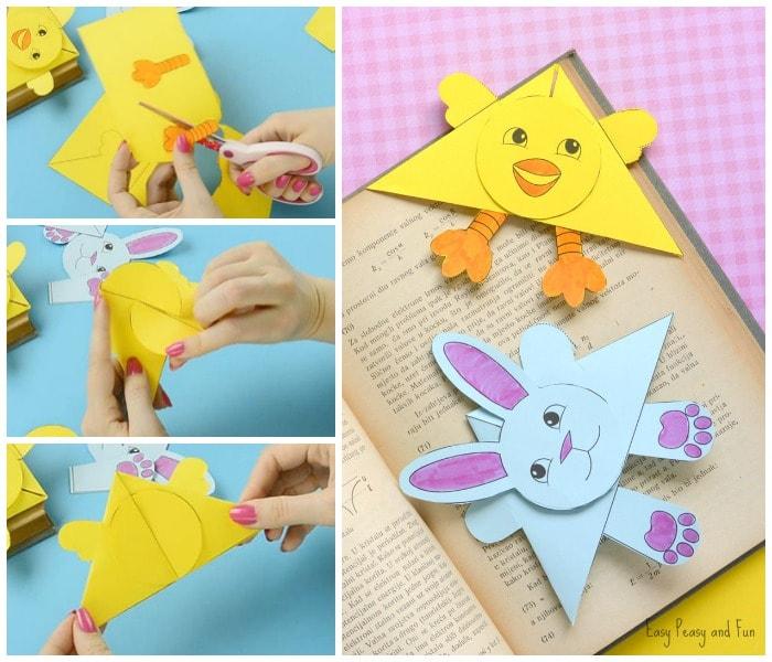 Easter Corner Bookmarks Craft