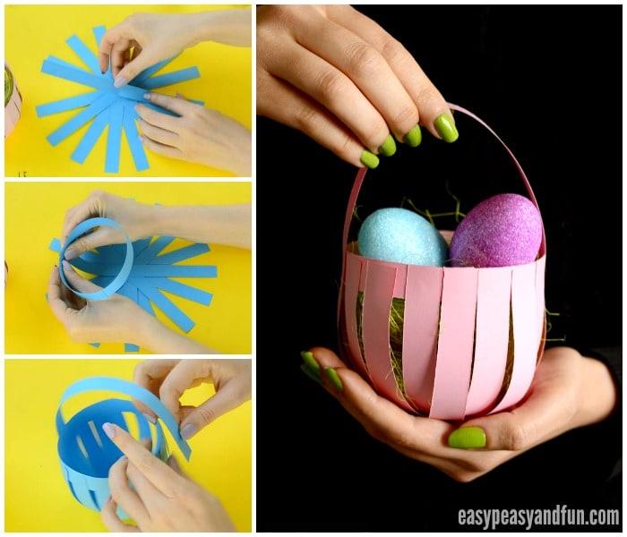 Lovely Paper Basket Craft