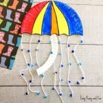 Umbrella Paper Plate Craft – Weather Crafts for Kids