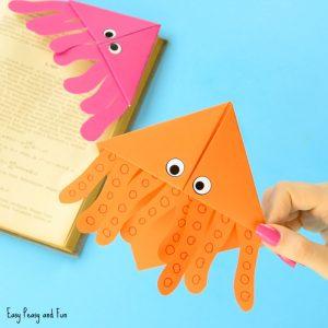 Octopus Corner Bookmarks