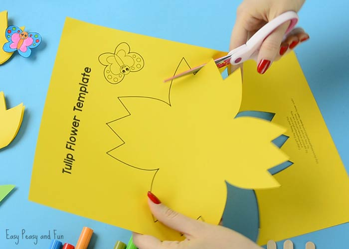 paper flower folding instructions
