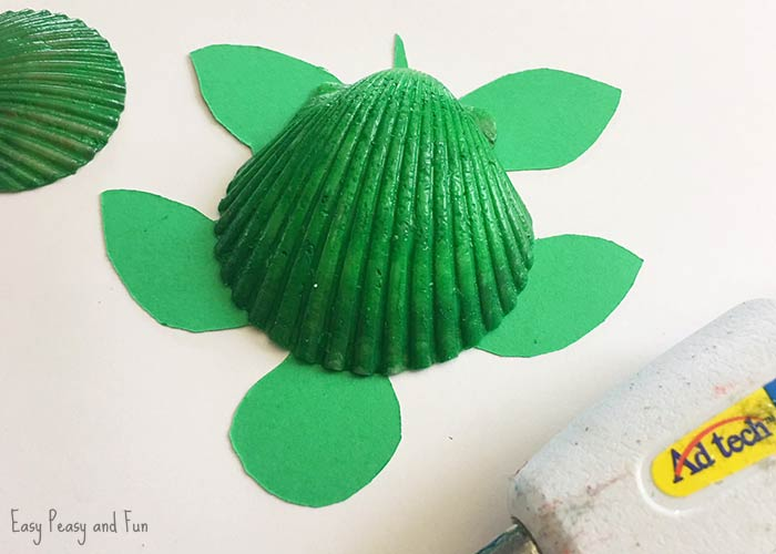 Seashell Turtle Craft Ideas Easy Peasy And Fun