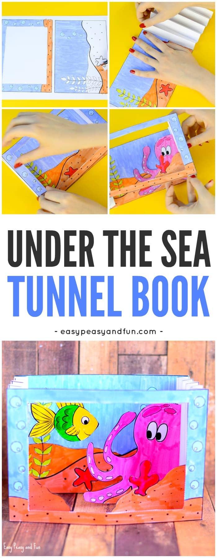 Under the Sea Tunnel Book