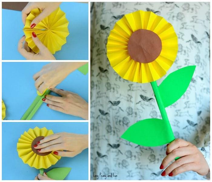 Green Leaf Paper Craft