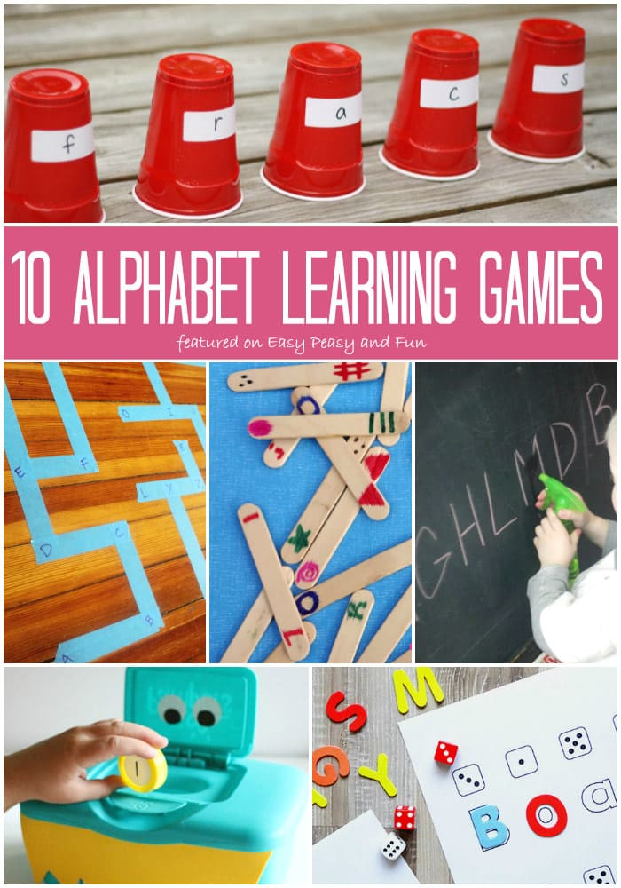 10 Alphabet Learning Games