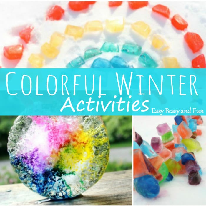 10 Colorful Winter Activities for Kids