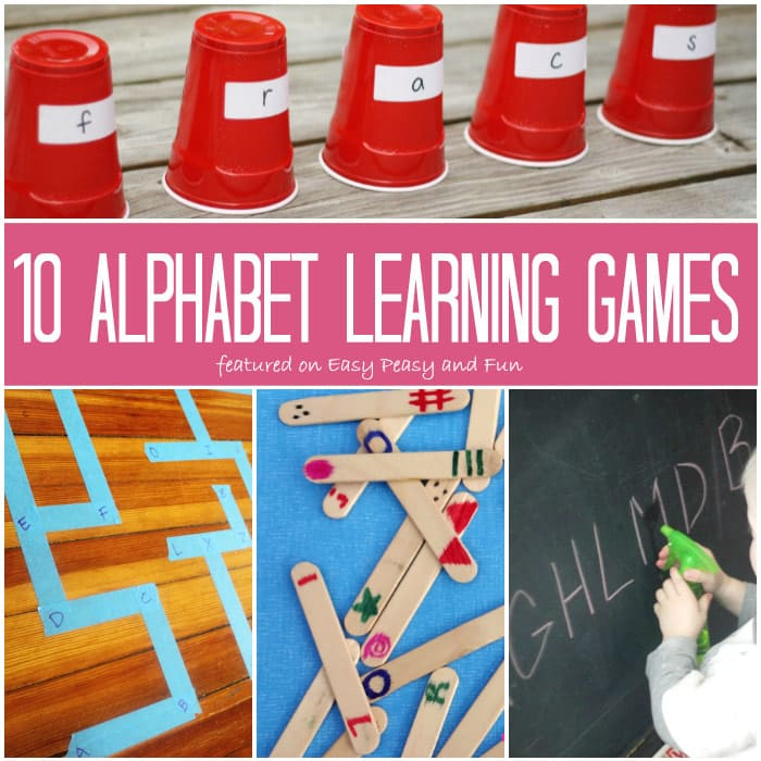 Alphabet Learning Games and Activities