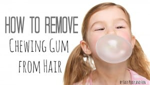 how to remove gum from hair how to remove gum from hair archives easy peasy and 7792