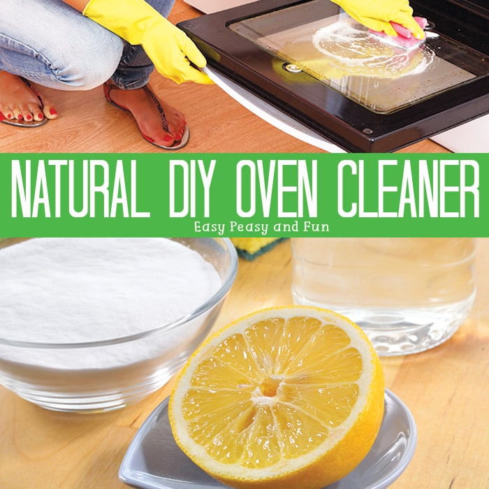 DIY Oven Cleaner