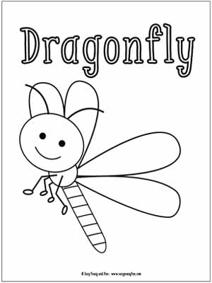 Little Bugs Coloring Pages for