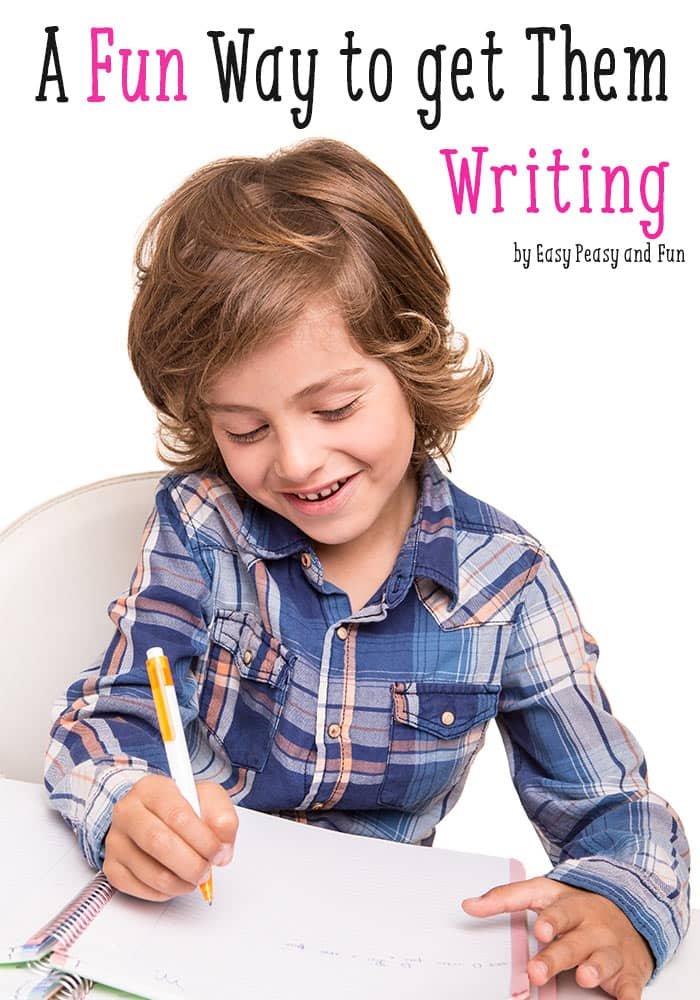 Fun Writing Activity For Kids
