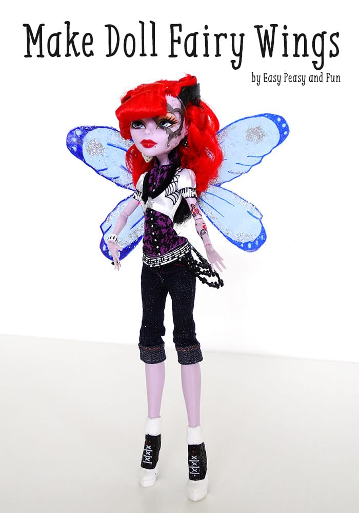 How to Make Doll Fairy Wings Tutorial